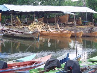 Boat building project - Thailand - Saundra Schimmelpfennig